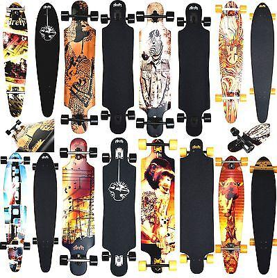 Longboard Area Zebbie Modèle Skateboard Neuf
