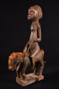 11516-Africain-Vieux-Igbo-Cavalier-Figurine-Nigeria