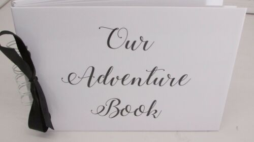 A5 Our Adventure Book Memory Book Scrapbook Album Gift Keepsake Present