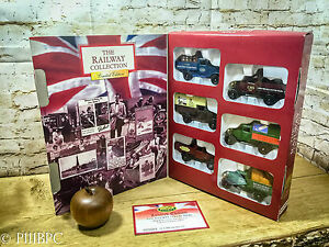The-Heritage-Classics-The-Railway-Collection-by-Oxford-Die-Cast-6-Vehicles