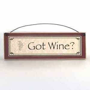 Funny kitchen signs got wine country home decor ebay for Got home decor