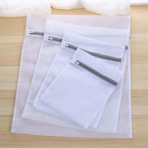 Mesh Laundry Bag Travel Clothes Storage Net Zip Bag Wash Bra Stocking Underwear