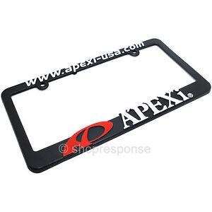HellaBroke Funny JDM Black License Plate Frame