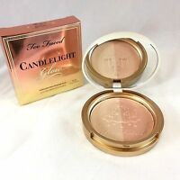 Too Faced Candlelight Glow Highlighting Powder Duo Warm Glow Full Size $30