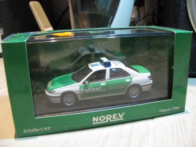 1 43 Norev Peugeot  406 Police voiture diecast  gros prix discount