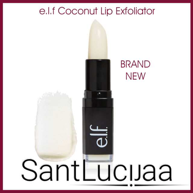 E.L.F ELF COSMETICS LIP EXFOLIATOR SCRUB TREATMENT SOFT SMOOTH LIPSTICK COCONUT