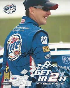Kurt Busch Signed Nascar 8x10 Photo PSA/DNA # G22232