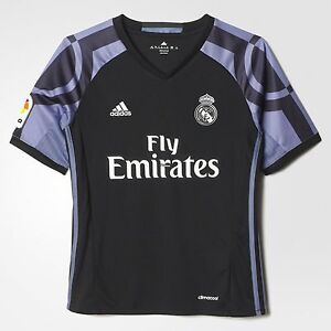 848e3cb312d Official Adidas 2016 2017 Real Madrid Junior Boys 3rd Third Football ...