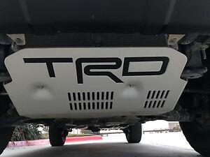 Toyota 4Runner TRD PRO Skid Plate Decal 15 16 17 | eBay