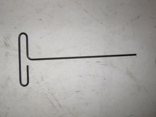 """Black 1//4/"""" x 9/"""" T Handle Hex Key Wrench"""