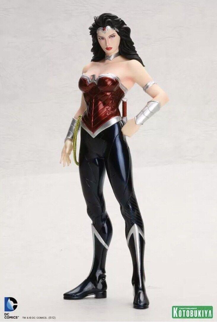 KOTOBUKIYA DC COMICS Mujer Maravilla Nuevo 52 ARTFX + Estatua