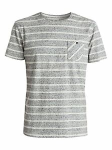 Quiksilver Baysic Pocket S//S Modern Fit Knit T-Shirt Tee Sz Medium