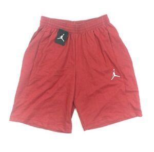 42e4b7dc485c NEW Nike Jordan Jumpman Fleece Basketball Red Sweat Shorts (843963 ...