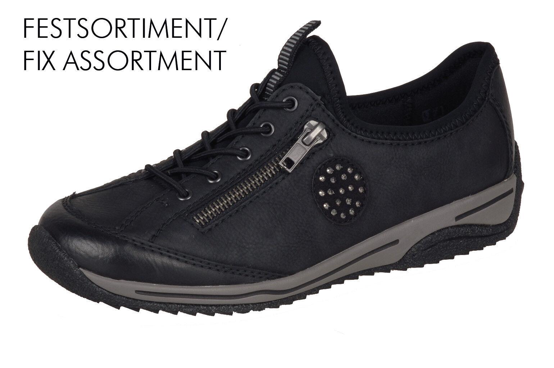 Los últimos zapatos de descuento para hombres y mujeres Descuento por tiempo limitado Rieker L5263 Damen Slipper Halbschuhe, Sneakers schwarz  NEU!