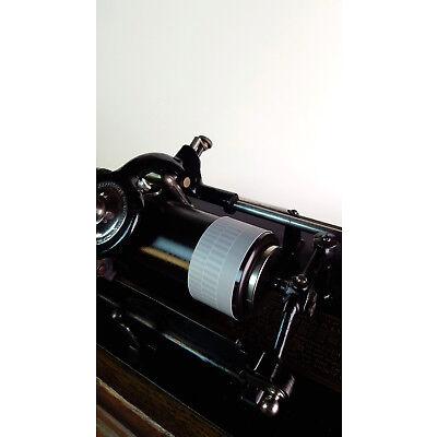 Stroboscope-banderole for cylinder phonographs (Edison Columbia Pathé)