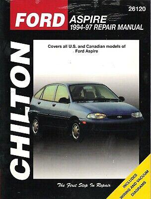 1994 ford aspire wiring diagram 1994 1997 ford aspire chilton repair service workshop shop manual  1994 1997 ford aspire chilton repair