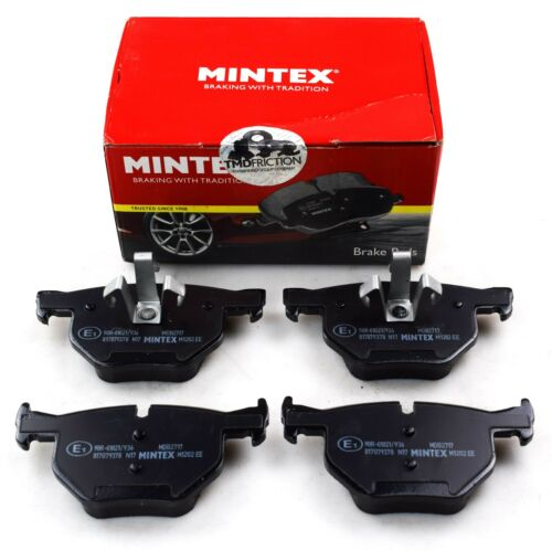 REAL IMAGE OF PART MINTEX REAR AXLE BRAKE PADS FOR BMW 3 X1 MDB2717