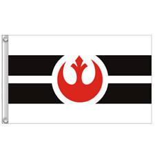 Star Wars Rebel Alliance Flag 3X2FT 5X3FT 6X4FT 8X5FT 10X6FT Polyester Banner