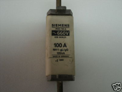 New 3NA5-807 Siemens Fuse 20A