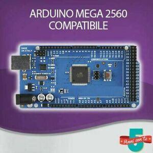 ARDUINO MEGA 2560 R3 + CAVO USB + ALIMENTATORE