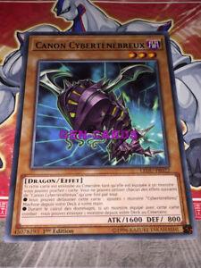 Carte Yu Gi Oh CANON CYBERTEBREUX LEDU-FR022