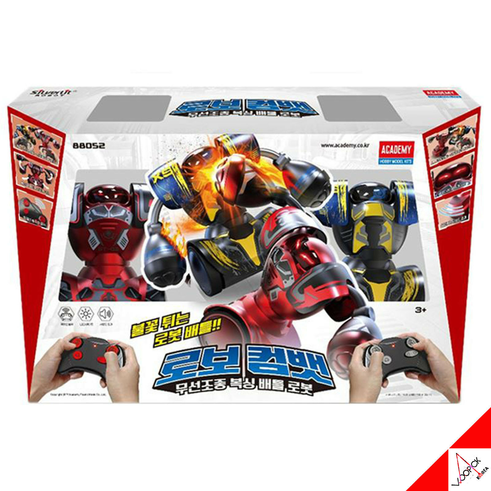 New Academy ROBOT COMBAT Wireless Remote Control Boxing Robot Battle Game 88052