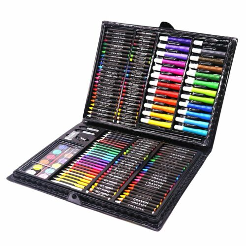 168PCS Painting Drawing Set Supplies Art Artist Colored Pencil Drawing Kit Tools