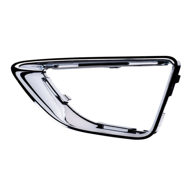 Plastic Driver Side Fog Light Trim Textured Black For Fusion 10-12