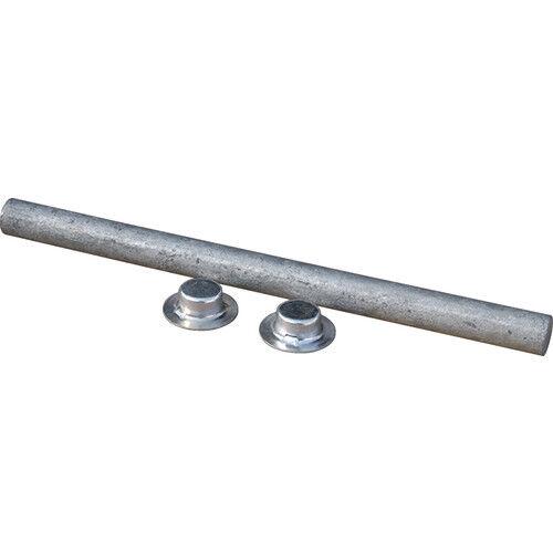 "Tiedown 86184 Boat Trailer Galvanized Roller Shaft W//Pal Nuts 1//2/"" x 6-1//4/"""