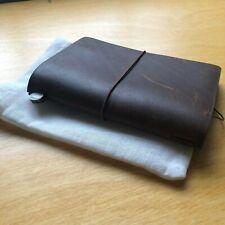 Midori Travelers Notebook Brown Passport Size Travelers Company Japan