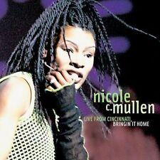 Live From Cincinnati Bringin' Bringing It Home Nicole C. Mullen SEALED NEW CD 03