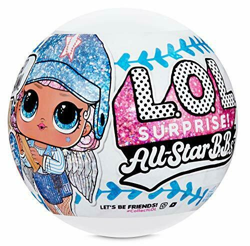 8 Surprise LOL Surprise All-Star B.B.s Sports Series 1 Baseball Sparkly Dolls