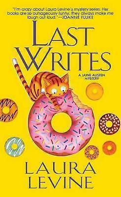 Levine, Laura, Last Writes (Jaine Austen Mysteries), Very Good Book