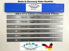 6 Stück Scheppach Plana 3.0 Einweghobelmesser Wendemesser Ersatzmesser