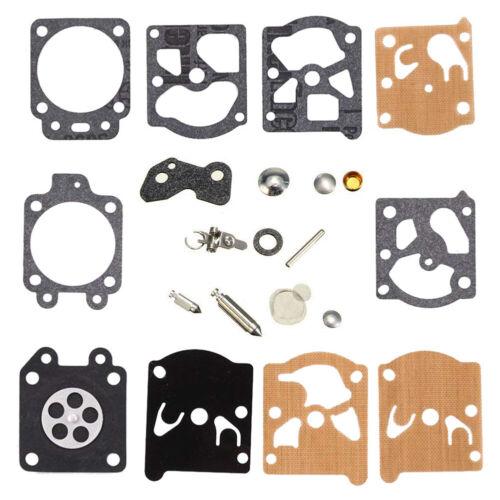 10PCS Carburetor Repair Kit Fit K20-WAT Sachs-Dolmar Stihl 240-250 Jonsered 360