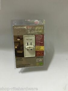 Skylark Lutron 3 Speed Almond Ceiling Fan Switch Control