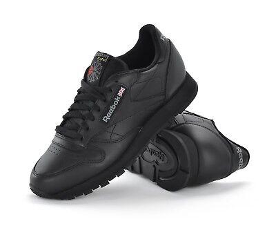 reebok classic trainers black