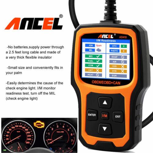 OBD2 Code Reader Car Engine Light Check O2 Sensor Test Auto Diagnostic Scan Tool