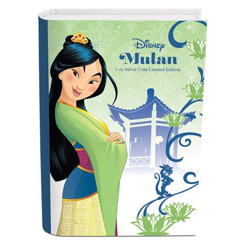 2016 Niue 1 oz Silver $2 Disney Princess Mulan SKU #97734