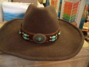 c0b4d978eec4b7 Image is loading NEW-Bullhide-Hat-Jewel-Of-The-West-Chocolate-