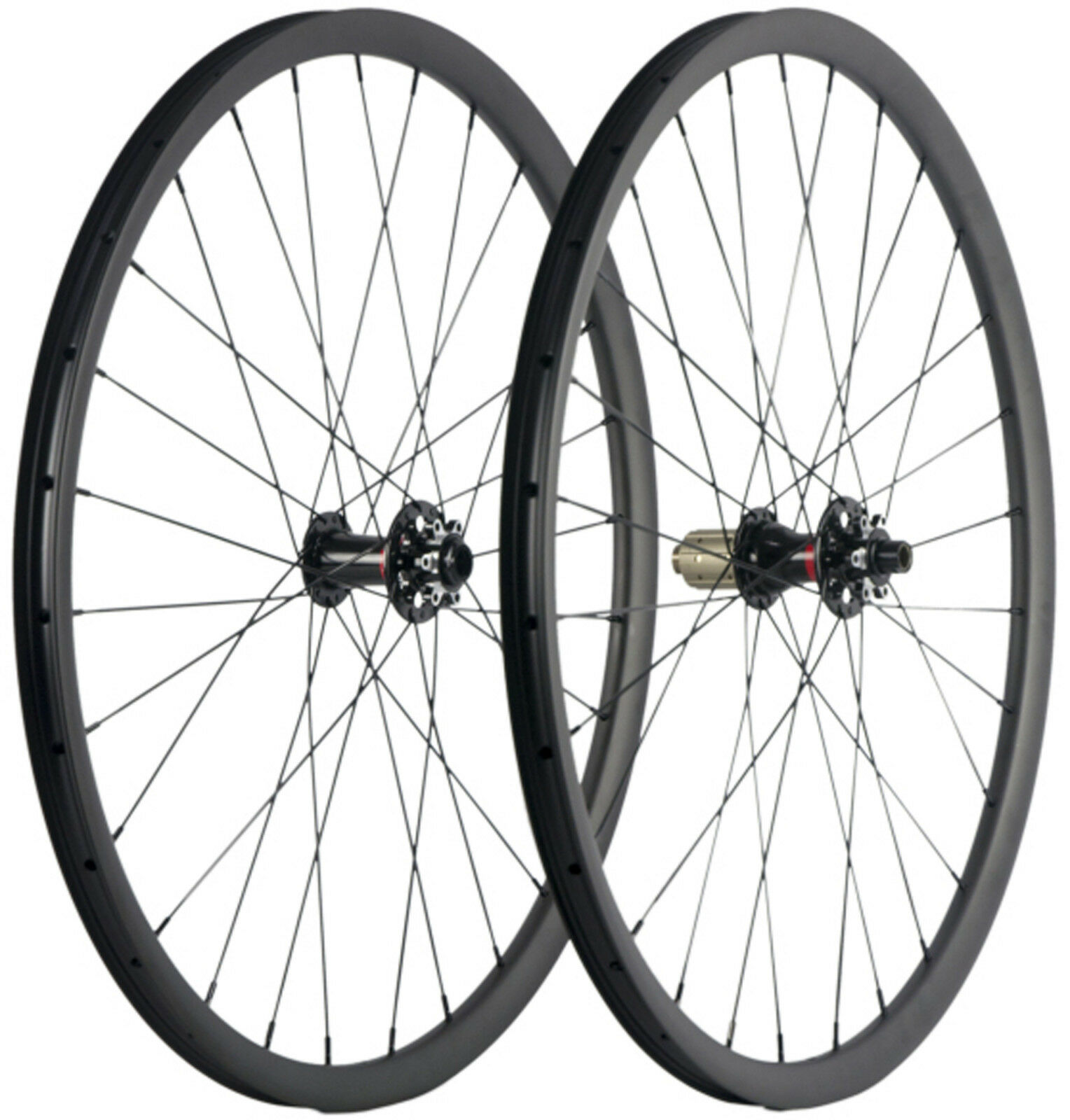 29  MTB Wheelset Full Carbon Fiber Mountain Bike Tubeless Bicycle Wheels 27mm