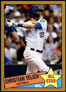 Christian-Yelich-2020-Topps-1985-35th-Anniversary-All-Stars-5x7-Gold-85AS-19-1