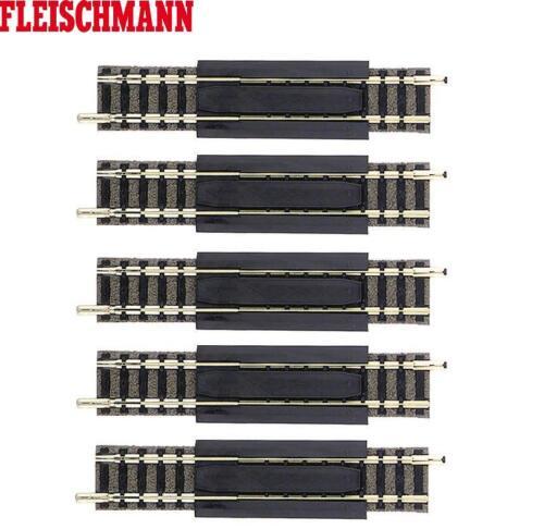5 Stück Fleischmann N 9110-S Gerades Ausgleichsstück 83-111 mm OVP - NEU