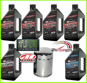 HARLEY-DAVIDSON-V-Twin-Cam-MAXIMA-SYNTHETIC-Oil-Change-Kit-Electra-Glide-Ultra
