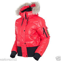 $1050 Rossignol Women's Becky Down Ski Jacket - Genuine Fox Fur, Dwr, Xl