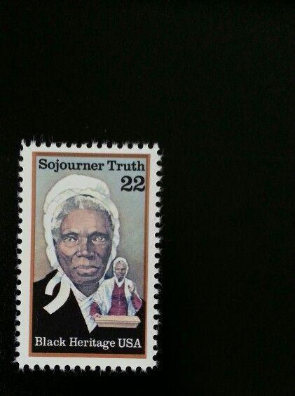 1986 22c Sojourner Truth, Human Rights, Black Heritage
