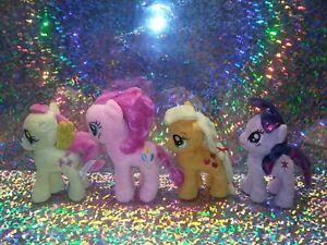 My Little Pony MLP Plush 4 set Pinkie Pie Apple Jack