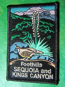 Iron-on New in Bag ⫸ P32 Sequoia National Park Embroidered Patch CA California