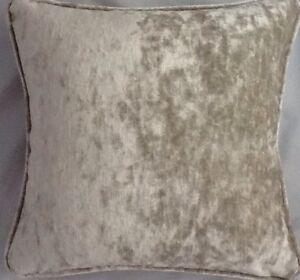 A-16-Inch-cushion-cover-in-Laura-Ashley-Caitlyn-Sable-Velvet-Fabric