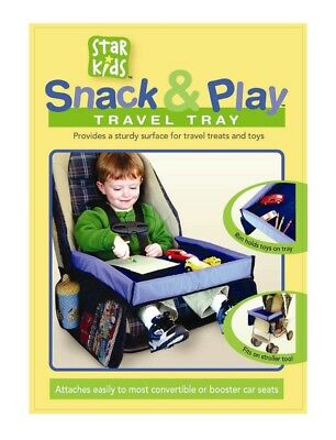 Star Kids Snack And Play Travel Tray Waterproof Safety Baby Car Seat Table Board
